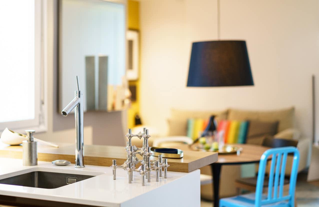 AZULAZULETE · Arquitectura e Interiorismo – Apartamento Valladolid
